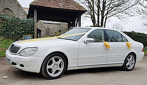 Mercedes S Class L for hire for weddings and special occasions