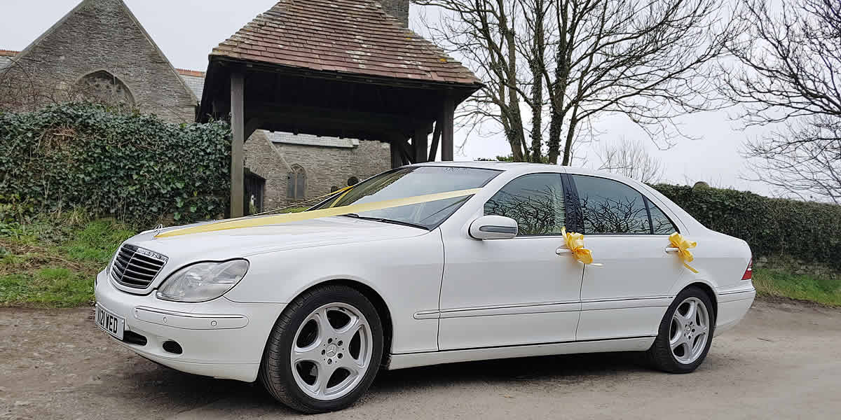 Getting you to the church in style on your wedding day