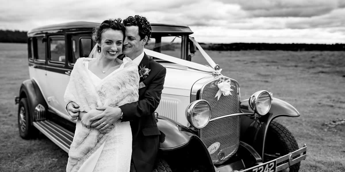 Classic Cars Wedding Hire Somerset