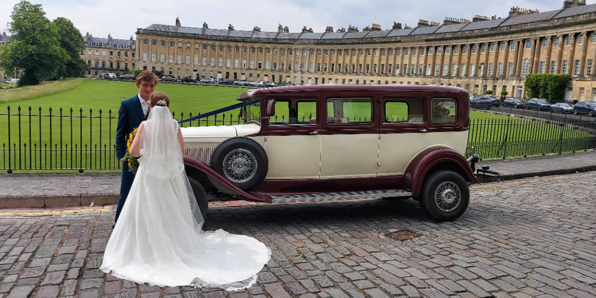 Add that special touch to your transport to the church on your wedding day